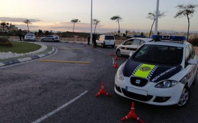 La Policía Local de Santa Pola continúa reforzando la vigilancia en la zona de Gran Alacant