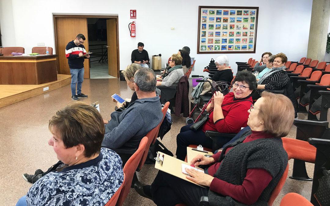 Los Talleres de Memoria que realiza el Departamento de Salud se consolidan en Santa Pola edición tras edición