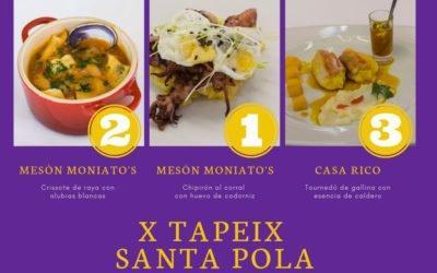El Tapeix de Santa Pola llega a su fin superando los datos de 2018: Rutappa se ha usado un 30% más que el año pasado