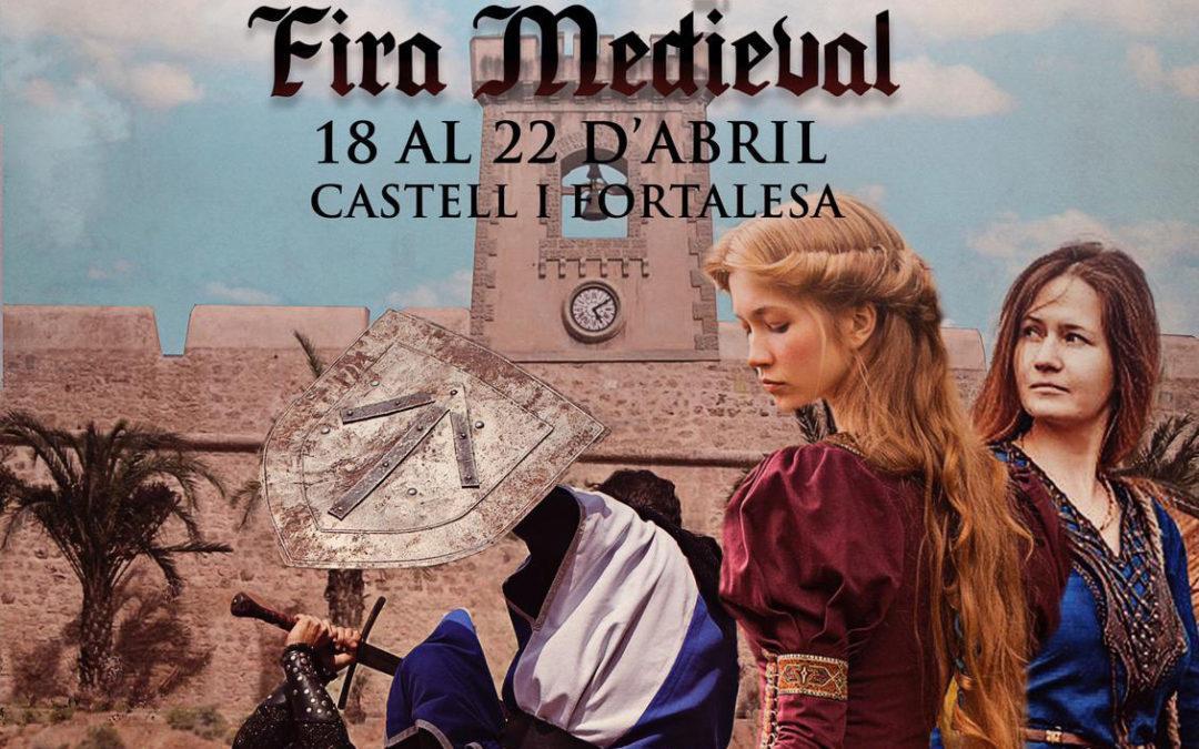 El Castell- Fortalesa de Santa Pola acull la Fira Medieval del 18 al 22d'abril