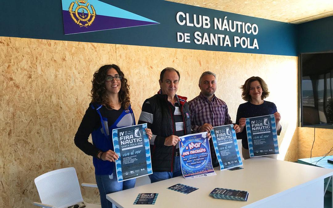 El Paseo Adolfo Suárez se viste de azul para acoger la cuarta edición de Fira Nautic