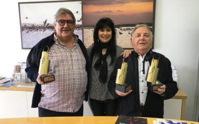 Entrega de premios del Tapeix Santa Pola 2019: Mesón Moniato's y Casa Rico han sido los ganadores