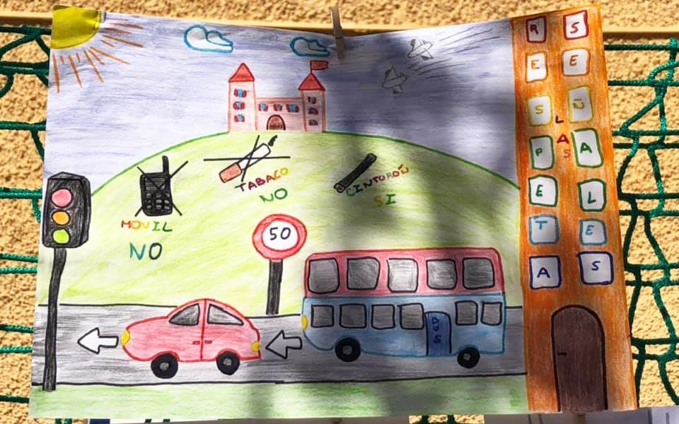 El Parc Infantil de Trànsit de Santa Pola ja compta amb un cartell per al curs acadèmic 2019-2020