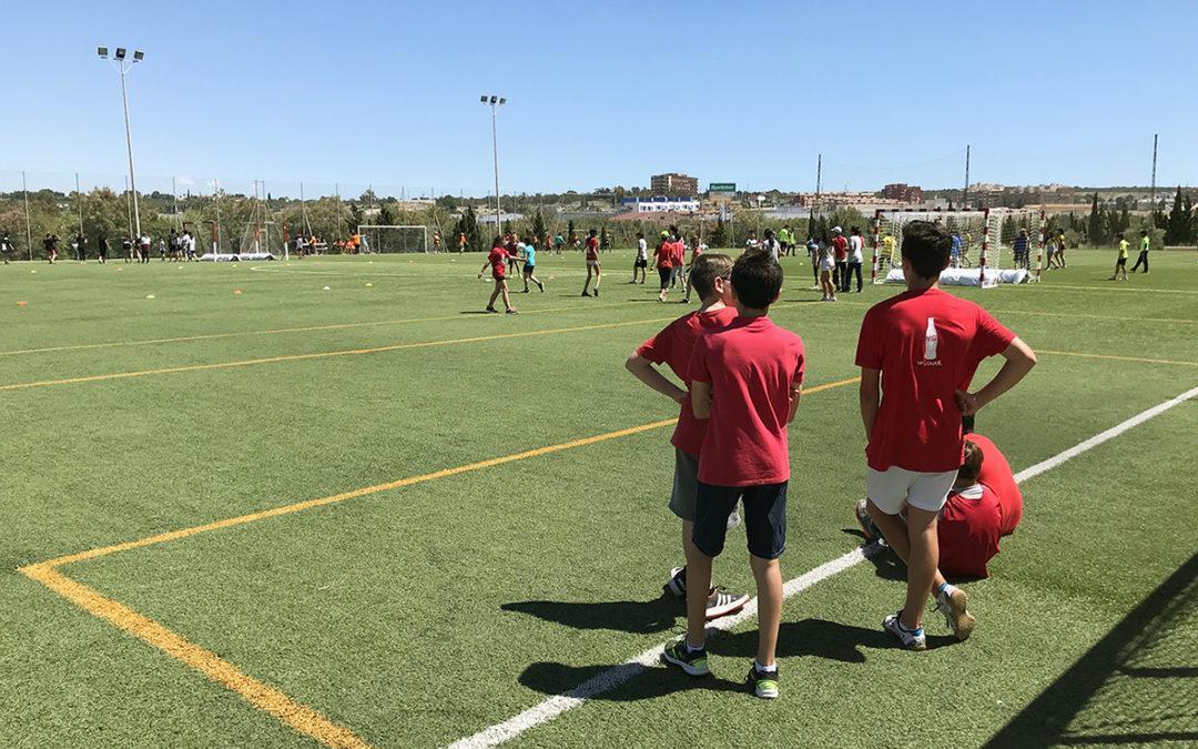 (Castellano) La IV Jornada Intercentros Colpbol acoge en Santa Pola a más de 300 alumnos y alumnas