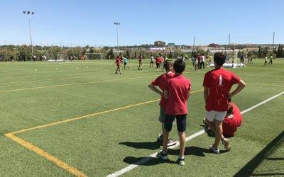 La IV Jornada Intercentres Colpbol acull a Santa Pola a més de 300 alumnes