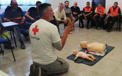 La Policía Local de Santa Pola organiza una jornada sobre reanimación cardiopulmonar y desfibrilador semiautomático