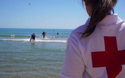 Cruz Roja realiza el 12 de junio las pruebas de acceso a Socorrismo en la Playa de Levante