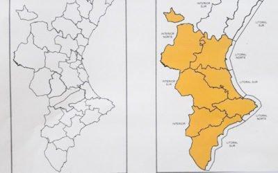 Nivell de PREEMERGÈNCIA NIVELL TARONJA per plutjes en la provincia d'Alacant