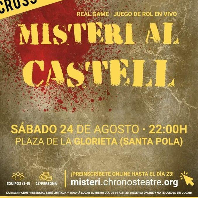 """(Castellano) """"Misteri Al Castell"""", un juego de rol en vivo"""