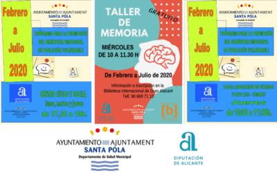 (Castellano) Talleres de Bienestar emocional – Departamento de Salud Municipal