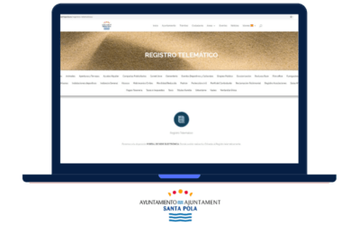(Castellano) Comunicado sobre el uso de medios electrónicos con el Ayuntamiento de Santa Pola